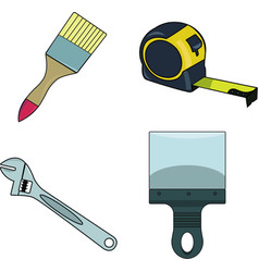 Tools and instruments vector