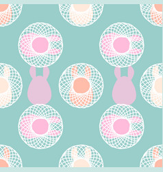 abstract soft colors seamless pattern for vector image vector image