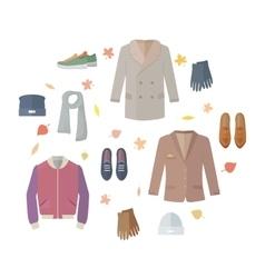 Seasonal Sale Concept in Flat Design vector image vector image