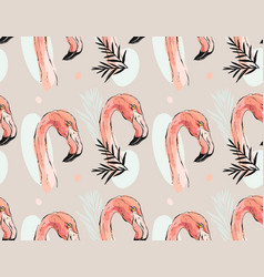 hand drawn abstract artistic seamless vector image