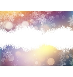 Abstract christmas lights on background eps 10 vector