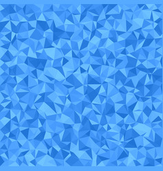 Blue triangle tiled mosaic background vector