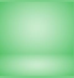 Empty pastel green studio abstract background vector