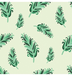 Jade feather vector