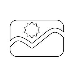 Line picture symbol icon design vector