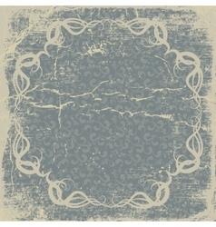 old paper vintage card vector image