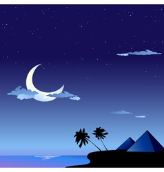 romantic travel background vector image