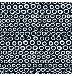 Seamless artistic pattern Hand drawn vector