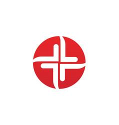 vortex circle logo and symbols template icons app vector image