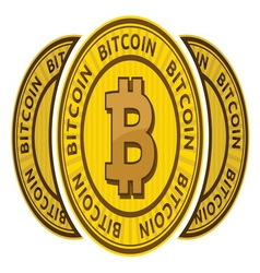 Bitcoin3 resize vector image vector image