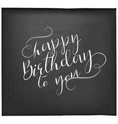Happy birthday greeting card design element vector