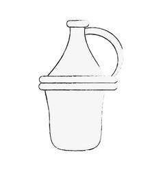 wine antique jar vector image vector image