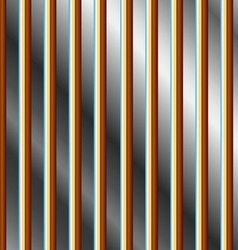 Colorful bars on a silver background vector image vector image