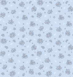floral pattern in vintage style vector image