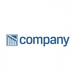 legal logo vector image