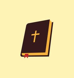 Bible icon web vector