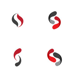 Business corporate s letter logo vector