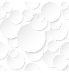 Circle stickers on white background for design vector