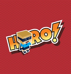 great superhero mom vector image
