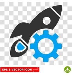 Rocket Development Eps Icon vector