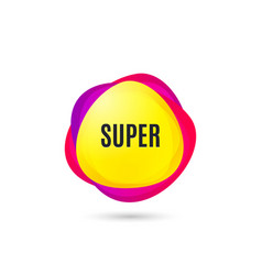 super symbol special offer sign vector image