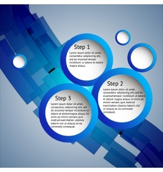 Three steps vector