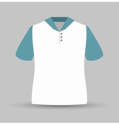 neck shirt isolated icon design vector image vector image