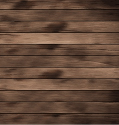 Wood plank brown texture background vector image