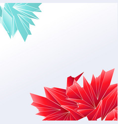 abstract digital geometric background with place vector image
