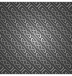 Celtic pattern wallpaper background vector image vector image