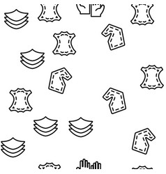 Leather cloth material seamless pattern vector