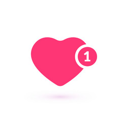 like counter comment follower and notification vector image