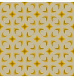 Simple geometric pattern in 1970s style vector image