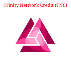 Trinity network credit tnc logo vector