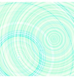 round art abstract background vector image