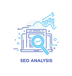 Calculator data study seo analysis growth vector