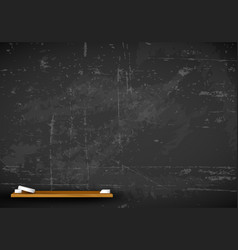 chalkboard - school background vector image