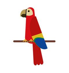 Exotic natural bird vector