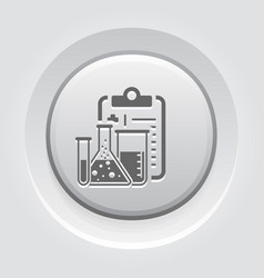 laboratory analysis flat icon vector image