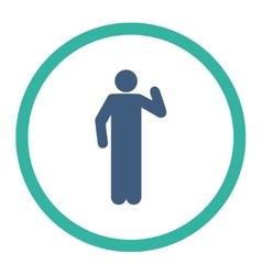 Opinion icon vector