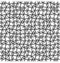 seamless geometry truchet pattern vector image