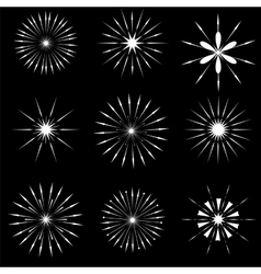 Starbursts SYmbols vector
