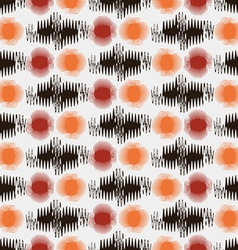 Abstract pattern colored waves vector image