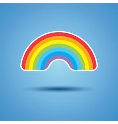 icon of rainbow vector image vector image