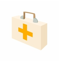 Medicine chest icon cartoon style vector image