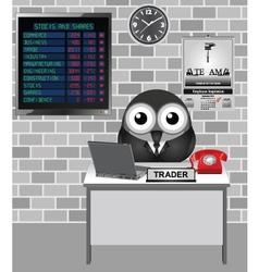 Stocks and Shares Crash vector image