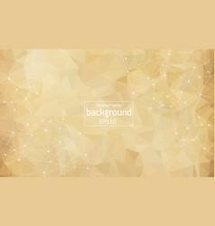 abstract brown light geometric polygonal vector image