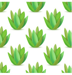 agave - seamless pattern vector image