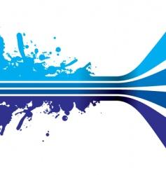 Blue strips vector
