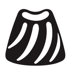 candy bonbon icon simple style vector image